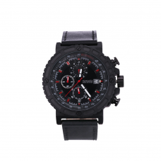 Relógio Masculino Skmei Preto e Vermelho 1350 ***