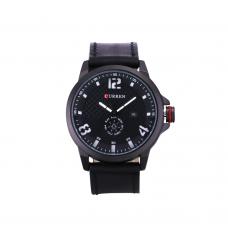 Relógio Masculino Curren Analógico 8253 Preto e Branco