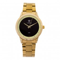 Relógio Feminino Tuguir Analógico TG113 Dourado e Preto