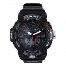 Relógio Masculino Weide AnaDigi WA3J9001 – Preto e Cinza ****