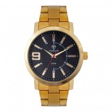 Relógio Masculino Tuguir Analógico TG119 Dourado e Preto
