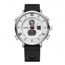 Kit Relógio Masculino Weide Anadigi WH-6106