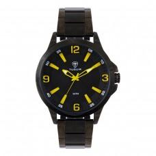 Relógio Masculino Tuguir Analógico TG100 Preto e Amarelo