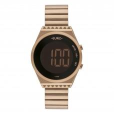 Relógio Euro Digital Rosé Feminino EUBJT016AB/4J