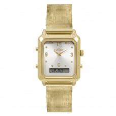 Relógio Condor Anadigi Dourado Feminino COBJ3718AB/4K