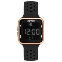 Relógio Mormaii Preto Digital Unissex MO6600/8J