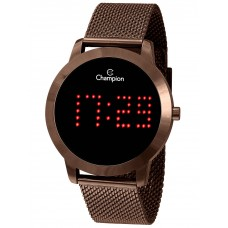 Relógio Champion Digital Chocolate CH40017R