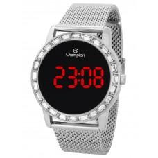 Relógio Champion Digital Prata Feminino CH40160T