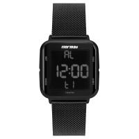 Relógio Mormaii Preto Unissex MO6600AG/8P