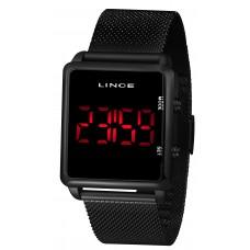 Relógio Lince Digital Preto Unissex MDN4596L PXPX